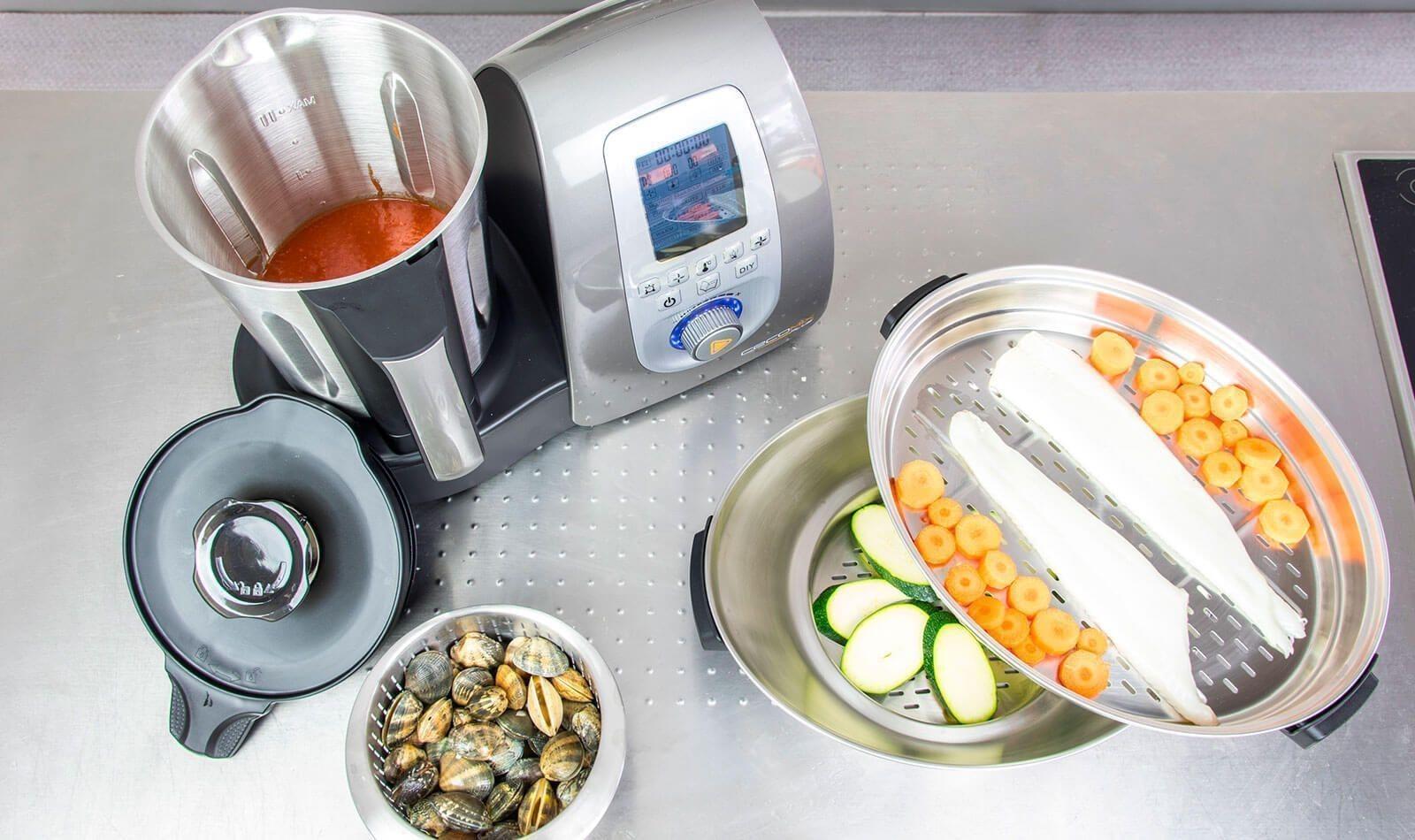 Opiniones Robots De Cocina Cecomix Plus 4