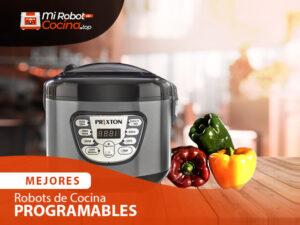 Mejores Robots De Cocina Programables 1
