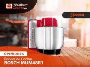 Opiniones Robots De Cocina Bosch Mum48r1 1