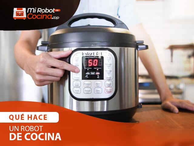 Que Hace Un Robot De Cocina 1